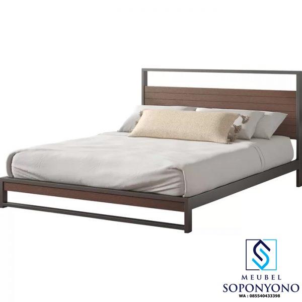 Tempat Tidur Minimalis Model Sederhana Jati